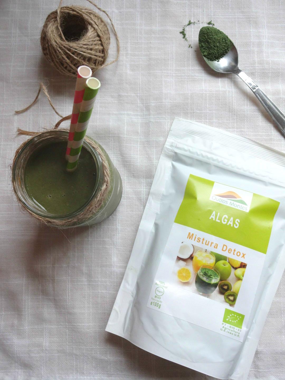 Smoothie de Meloa e Mistura Detox Outros Montes
