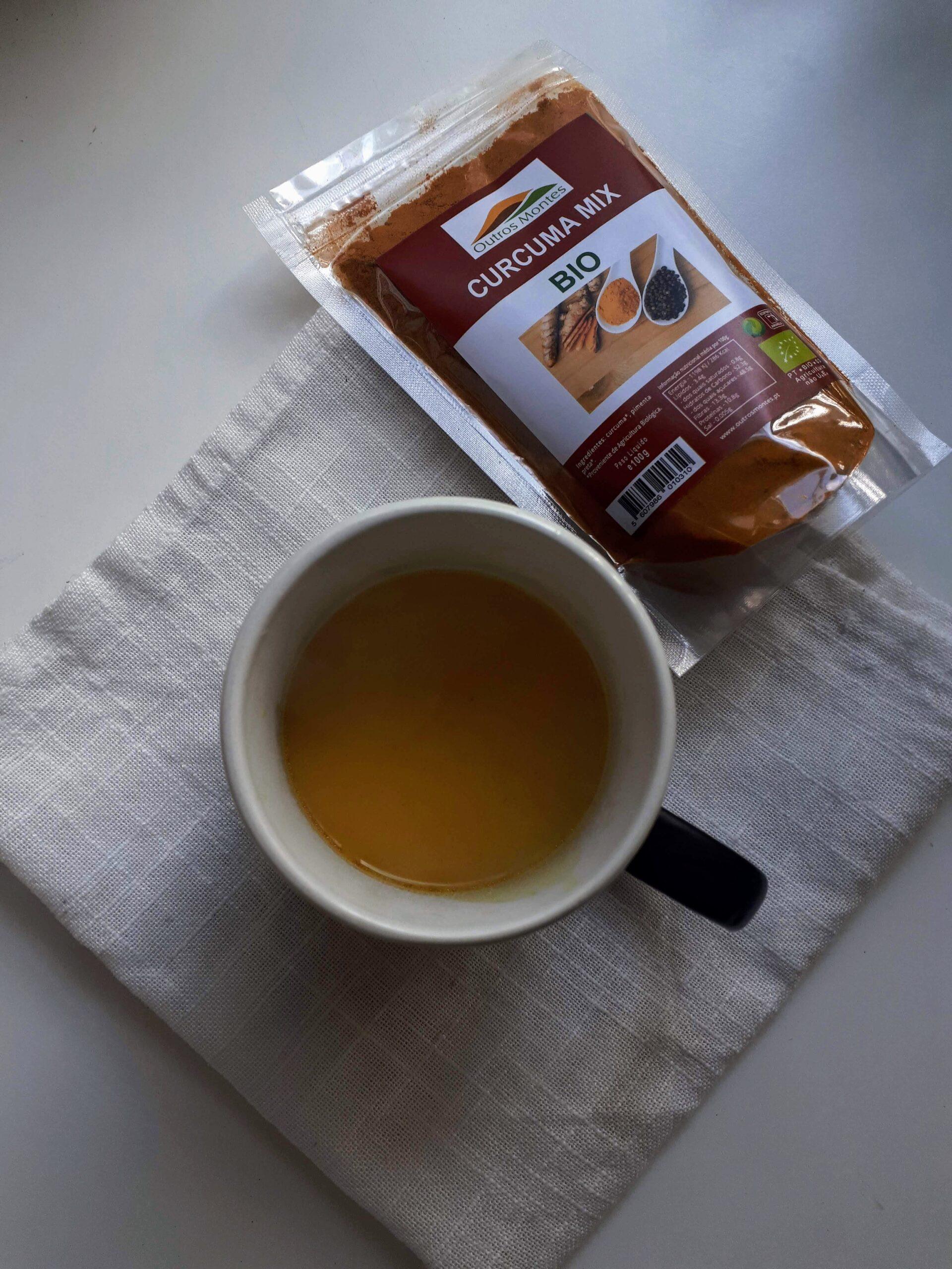 Bebida vegetal aromatizada com Curcuma Mix Outros Montes