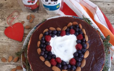 Cococake com Geleia de Arandos Vermelhos