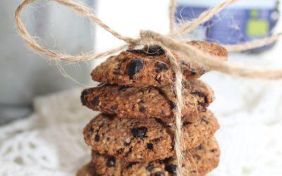 Bolachas de aveia, Chocolate e Mirtilos Bio Outros Montes