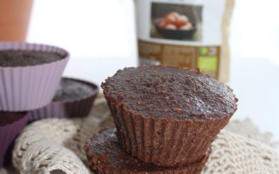 Muffins de Cacau, Arandos e Veggie Eggs Outros Montes